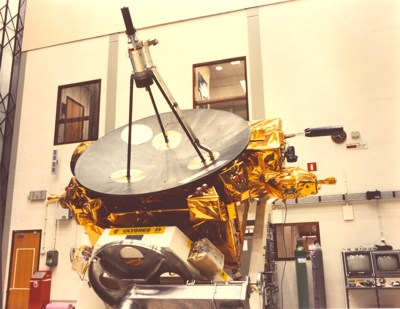 Photo of Ulysses Spacecraft